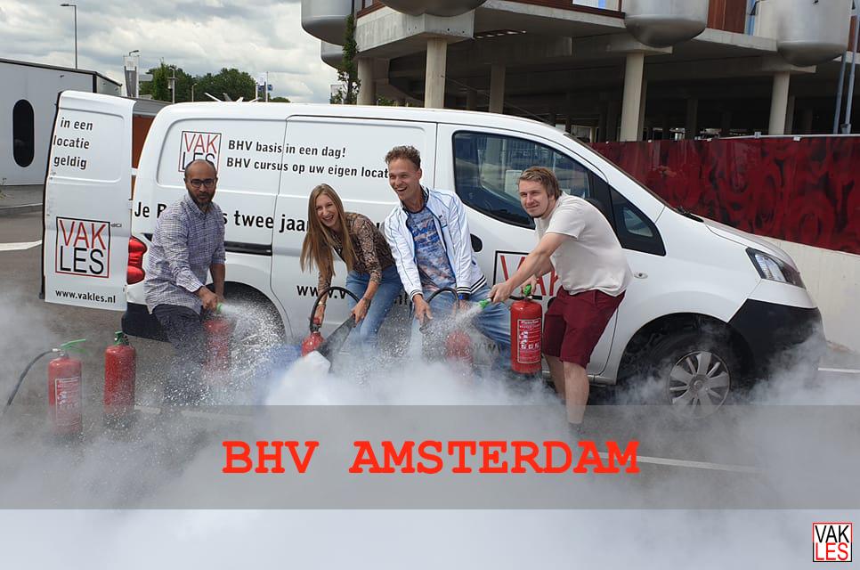 BHV cursus Amsterdam