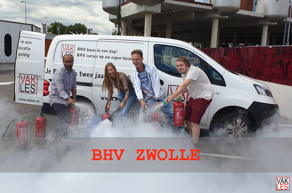 BHV cursus Zwolle